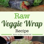 Raw Veggie Wrap Recipe
