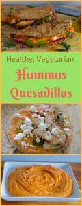 Healthy Hummus Quesadillas