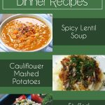3 Vegan + Affordable Dinner Recipes