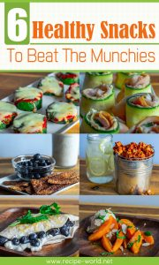 6 Healthy Snacks To Beat The Munchies