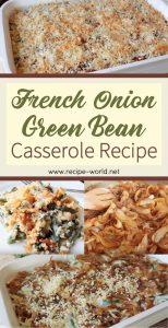 French Onion Green Bean Casserole