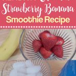 Healthy Chocolate Strawberry Banana Smoothie Recipe