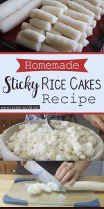 Homemade Sticky Rice Cakes Recipe