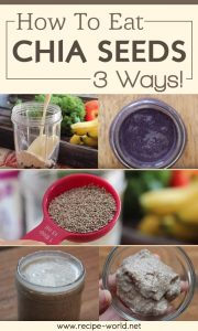 How To Eat Chia Seeds - 3 Ways!