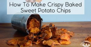 How To Make Crispy Baked Sweet Potato Chips Como Hacer Chips