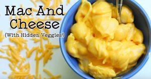 Mac and Cheese (with Hidden Veggies!)
