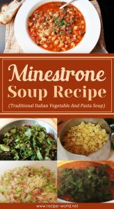 Minestrone Soup Recipe (Traditional Italian Vegetable And Pasta Soup)