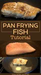 Pan Frying Fish