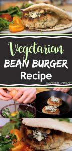 Vegetarian Bean Burger Recipe