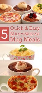 5 Quick And Easy Microwave Mug Meals
