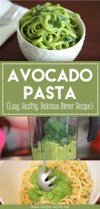Avocado Pasta (Easy, Healthy, Delicious Dinner Recipe)