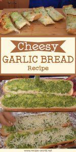 Cheesy Garlic Bread Recipe - Laura Vitale