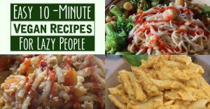 Easy 10-Minute Vegan Recipes For Lazy People