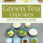 Green Tea Cupcakes (Matcha Cupcakes)