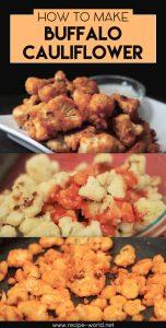 How To Make Buffalo Cauliflower Recipe