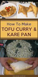 How To Make Tofu Curry & Kare Pan