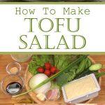 How To Make Tofu Salad