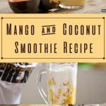 Mango & Coconut Smoothie
