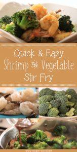 Quick & Easy Shrimp And Vegetable Stir Fry