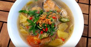 Vietnamese Sweet & Sour Fish Soup