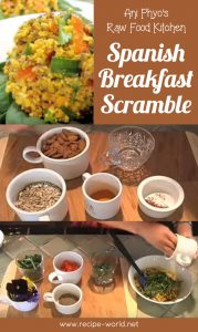 Ani Phyo's Raw Food Kitchen: Spanish Breakfast Scramble
