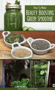 Beauty Boosting Green Smoothie