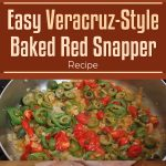 Easy Veracruz-Style Baked Red Snapper