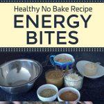 Healthy No Bake Recipe – Energy Bites