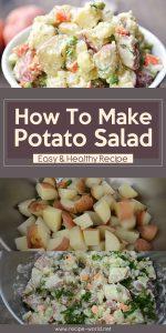 How To Make Potato Salad - Easy & Healthy Recipe