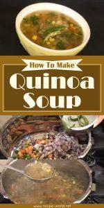 How To Make Quinoa Soup