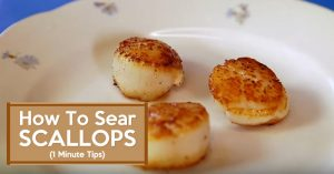 How To Sear Scallops - 1 Minute Tips