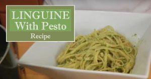 Linguine With Pesto Recipe - Laura Vitale