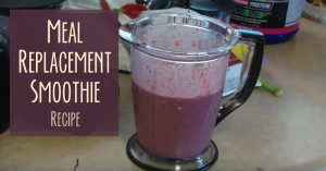 Meal Replacement Smoothie Recipe Video