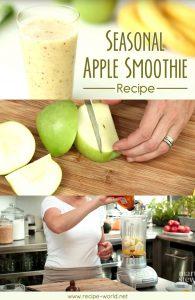 Seasonal Apple Smoothie