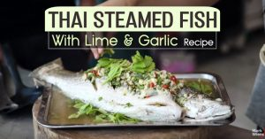 Thai Steamed Fish With Lime And Garlic Recipe
