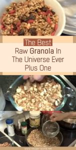The Best Raw Granola In The Universe Ever Plus One