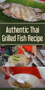 Authentic Thai Grilled Fish Recipe