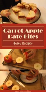 Carrot Apple Date Bites (Raw Recipe)