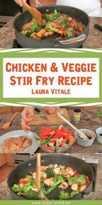 Chicken & Veggie Stir Fry Recipe - Laura Vitale