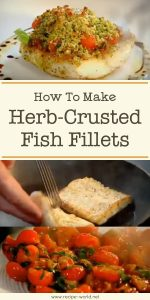 Herb-Crusted Fish Fillets