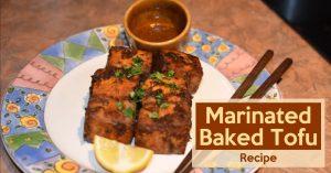 Marinated Baked Tofu