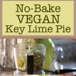 No-Bake Vegan Key Lime Pie