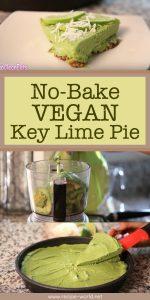 No-Bake Vegan Key Lime Pie
