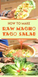 Raw Macho Taco Salad