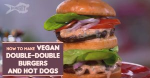 Vegan Double-Double Burgers And Hot Dogs