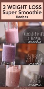 Weight Loss Super Smoothie Recipes