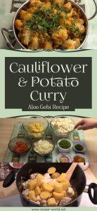 Aloo Gobi Recipe - Cauliflower & Potato Curry