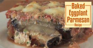 Baked Eggplant Parmesan Recipe
