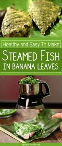 Healthy And Easy To Make Steamed Fish In Banana Leaves