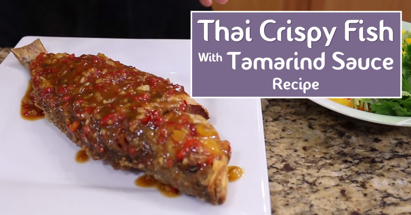 how to make tamarind sauce for fish
